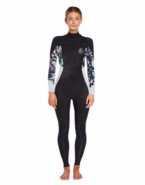 O'Neill Bahia 4x3mm Womens Wetsuit FUZE Zip Steamer-women-winter-HYDRO SURF