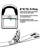 FCS D-Ring Tie Downs