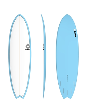 Torq Mod Fish Surfboard - Colour Pinline-fun-HYDRO SURF