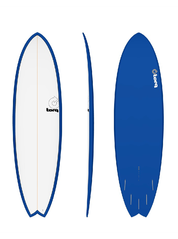 Torq Mod Fish Surfboard - Colour Pinline