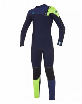 O'Neill Psycho 1 Youth 4x3mm Fuze Chest Zip Wetsuit on SALE-o'neill-HYDRO SURF