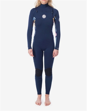 Rip Curl Dawn Patrol 3x2mm Chest Zip Wetusit - Women's-women-winter-HYDRO SURF