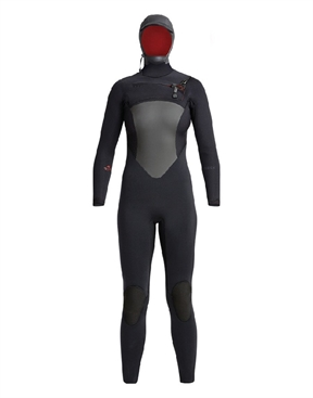 Xcel Ladies Drylock 6x5mm Hooded Winter Wetsuit Steamer-xcel-HYDRO SURF