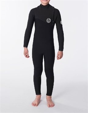 Rip Curl Junior Flash Bomb 4x3mm Zip Free Wetsuit Steamer-rip-curl-HYDRO SURF