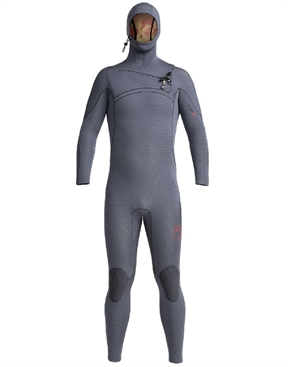 Xcel Ladies Comp-X 4.5x3.5mm Hooded Winter Wetsuit Steamer-xcel-HYDRO SURF