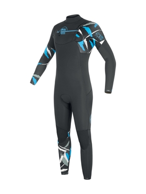Picture Equation 4x3mm Front Zip Ecoprene Wetsuit-wetsuits-HYDRO SURF