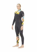Picture Equation 4x3mm Front Zip Ecoprene Wetsuit