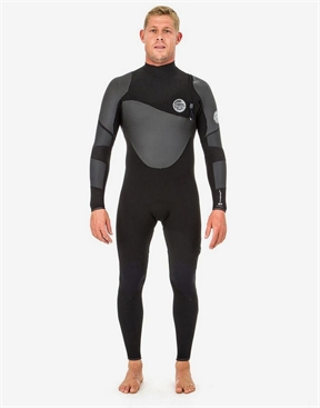 Rip Curl Heat Seaker Flashbomb 4x3mm Zip Free Wetsuit Steamer-men-winter-HYDRO SURF