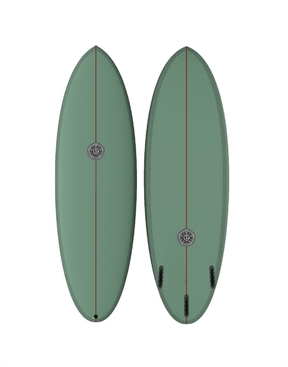 Elemnt Surfboards Scrambled Egg Military Green-surf-boards-HYDRO SURF