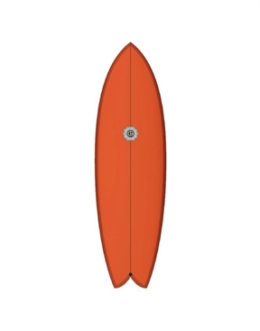 Element Surfboards Twin Fish Tangerine-surf-boards-HYDRO SURF