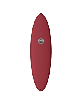 Element Surfboards Wild Cat Mid Length Red Merlot-surf-boards-HYDRO SURF