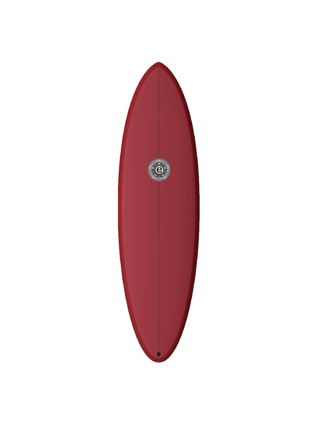 Element Surfboards Wild Cat Mid Length Red Merlot