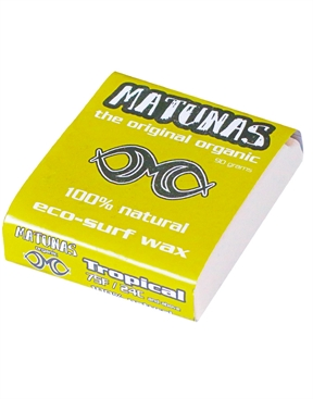Matunas Organic Tropical wax above 24°c -matunas-HYDRO SURF