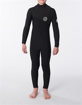 Rip Curl Junior Flashbomb 3x2mm Zip Free Wetsuit-children-HYDRO SURF