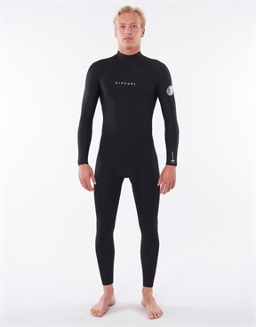 Rip Curl Dawn Patrol 4x3mm Back Zip Wetsuit - Mens-men-summer-HYDRO SURF