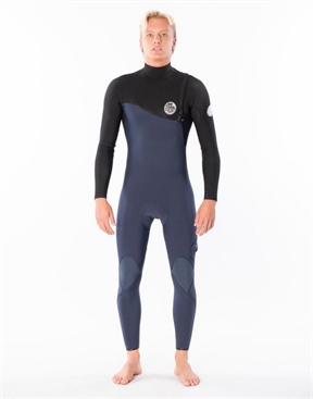 Ripcurl Mens Flashbomb 32GB Zip Free Steamer -wetsuits-HYDRO SURF