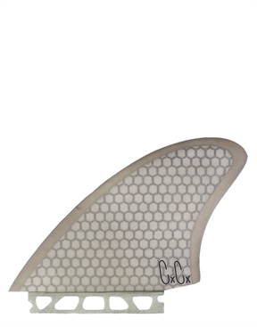 Captain Fin Christenson Keel Fin HC SMOKE Single Tab-fins-HYDRO SURF