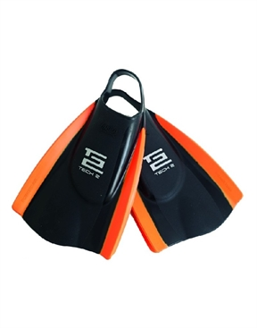 Hydro Tech 2 Fin Orange-body-board-HYDRO SURF